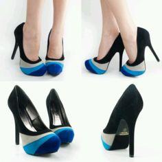 blue scale heel