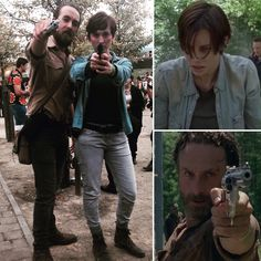 Mine & George's Walking Dead Cosplay at MCM Comic Con. Rick Grimes and Maggie Greene!