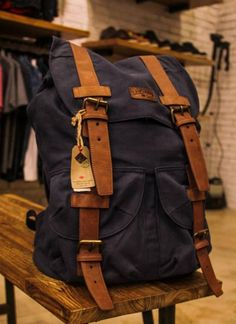 Let me introduce you to the bag of the season...The BRADWELL EXPLORER BACKPACK #backpack #heritage #LeeCooper