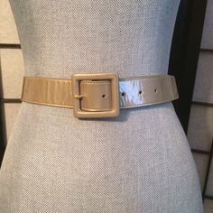 St. John Gold Metallic Belt This Gold Shimmery St John Belt looks great worn out side of your clothes or used in the normal manner through belt loops.                                       ➡️NO TRADES~PLEASE~DON'T ASK⬅️                   ➡️NO HOLDS & NO LOWBALLING⬅️ ➡️LOWBALL OFFERS WILL BE IGNORED & BLOCKED⬅️ St. John Accessories Belts