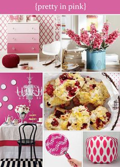 Colour palette roundup: pretty in pink! Beautiful pink decor ideas for the home!