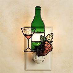Wine Bottle Nightlight