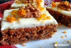 Healthy Sweets, Winter Food, Sweet Life, Carrot Cake, Cookie Recipes, Food And Drink, Favorite Recipes, Homemade, Snacks
