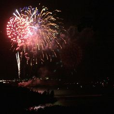 Chateau on the Lake fireworks on #TableRockLake #ItsMyShow