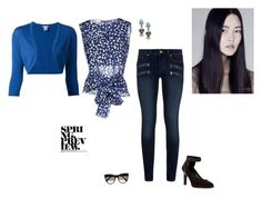 """""""Blue is my choice"""" by penelope1234567 ❤ liked on Polyvore"""