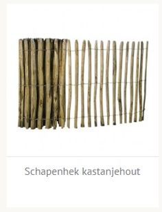 Schapenhek kastanjehout