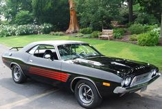 1973 Dodge Challenger #muscle #car