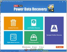 MiniTool Power Data Recovery Free Edition 7.0   MiniTool Power Data Recovery Free Edition--起動時の画面--オールフリーソフト