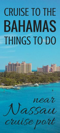 For self-guided excursions in Nassau during your Bahamas vacation, here are cruise tips and ideas for things to do near Nassau cruise port! Alternatives to Atlantis and Paradise Island trips that are cheap and free activities, as long as you don't mind a walking tour and learning Bahamas history! This Nassau itinerary has free food and free beach! ;) You won't travel far from downtown and you can get a little shopping in at market stands! Map of Nassau. #nassau #bahamas #cruisetips #cruise