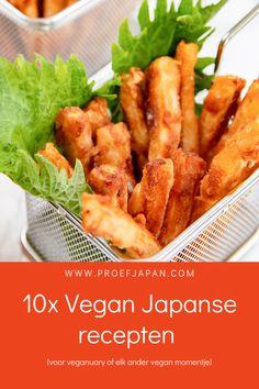 Ook de Japanse keuken heeft al eeuwenlang een uitgebreid aanbod aan heerlijke vegetarische en veganistische gerechten. Graag delen we dan ook onze favoriete vegan Japanse recepten (voor veganuary). Met alles van de heerlijkste Japanse curry, tot tofu karaage en daikon frietjes. Smullen is gegarandeerd1 Tofu, Ethnic Recipes