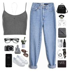 Untitled #559 by amy-lopezx on Polyvore featuring Topshop, adidas, Princess Carousel, Isabel Marant, NARS Cosmetics, Perricone MD, Aesop, H&M, Universal Lighting and Decor and Dot & Bo
