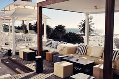 St Yves Camps Bay is a sundowner spot and nightclub in the fantabulous Camps Bay, famous for the awesome Goldfish Submerge Sundays. St Yves, Nightclub, Camps, Goldfish, Saints, Awesome, Places, Photos, Home Decor