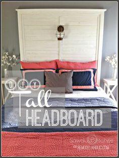 – Tall Headboard