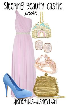 """Sleeping Beauty Castle Prom""  DisneyThis-DisneyThat on Tumblr"