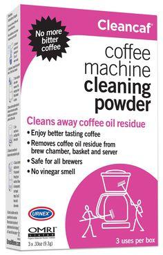 Cleancaf Coffee Machine Cleaning Powder