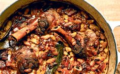 Braised lamb shanks with white beans recipe - Telegraph