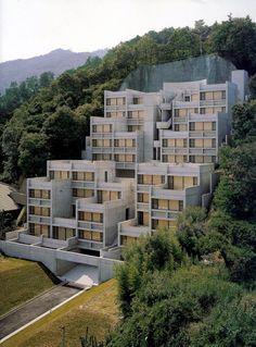 subtilitas:  Tadao Ando - Rokko Housing I Kobe 1983. Personal...