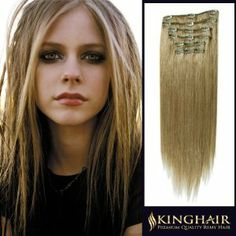 """18"""" 7pcs Ash Blonde_24 Remy Clips In Human Hair Extensions 100g Attached Full Head for Womens Beauty Hairsalon in Fashion by RemyKinghair. $74.95. Kindly note,PO BOX shipping address undeliverable,please leave your specific address which can dicretly get to you so as to keep your package safe.We kindly remind you that the order status online will be trackable in the next 72 hours due to package dispatch. Normally it takes 10 - 15 business days for standard delivery ....."""