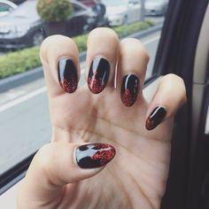 Devil vampire nail