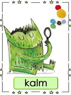 Thema Het Kleurenmonster: SEO/Emoties (kalm) Monster Activities, Feelings Activities, Preschool Activities, Educational Technology, Educational Leadership, Kindergarten, Therapy Worksheets, Busy Boxes, Learning Quotes