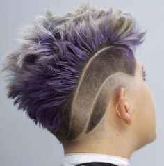 Women's Choppy Mohawk