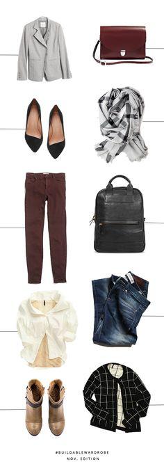 Fall Capsule wardrob