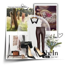 """""""Untitled #134"""" by azrahadzic ❤ liked on Polyvore featuring mode, Christian Louboutin en Sheinside"""