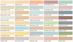Behr Paints Behr Colors Behr Paint Colors Behr Interior Paint Chart C