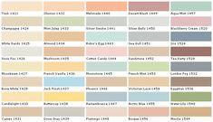 Behr Paints Behr Colors Behr Paint Colors Behr Interior Paint Chart C