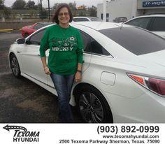 https://flic.kr/p/zyodsi   Congratulations Rema  from Mike Burdette at Texoma Hyundai!   deliverymaxx.com/DealerReviews.aspx?DealerCode=L967