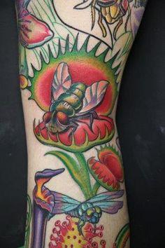 Tony Ciavarro - Venus Flytrap Tattoo