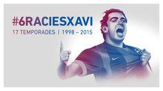 Xavi Hernández #FCBarcelona #Xavi #XaviFCB #FansFCB #6 #FCB #6ràciesXavi