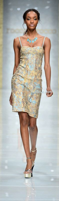 There's a lot of shimmer and shine in the Roccobarocco Spring Summer 2013 collection. Description from pinterest.com. I searched for this on bing.com/images
