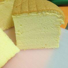Condensed milk spongecake