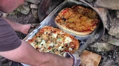 Homemade Wood-Fired Pizza Oven Cost Nothing At All To Build (And Feeds S...