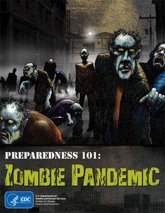 CDC's zombie survival comic!