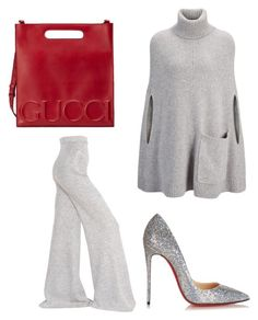 """Untitled #39"" by domstyle on Polyvore featuring STELLA McCARTNEY, Christian Louboutin, Joseph and Gucci"