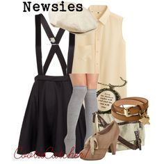 """Newsies"" by cootiecatcher7 on Polyvore"