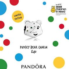 Support children in need this year with Pandora! The cutest little sterling silver pudsey. We've got ours... - Shop now > http://ift.tt/1Ja6lvu