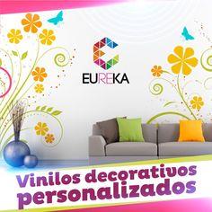 La mejor opción para decorar el interior de tu hogar, diseños personalizados. Eureka, ¡más diseño, más alegría! Tel. 325 5278 / 314 790 8139 Pereira