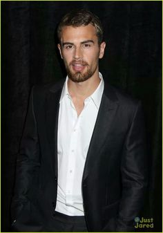 Theo James is so dang hot with facial hair. Divergent. Insurgent. Allegiant.
