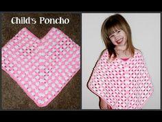 Amy's Crochet Creative Creations: Crochet Child's Poncho