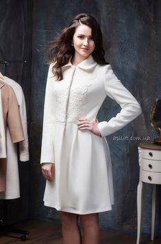 Moda International By Victoria Secret Belted Ruffle Off White Coat ...