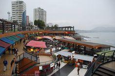Larcomar Mall in Lima, Peru