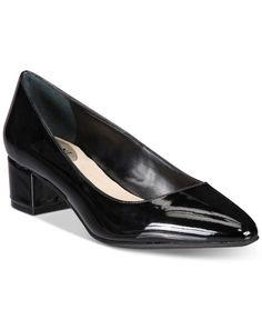 Alfani Women's Step 'N Flex Daleah Block-Heel Pumps, Only At Macy's