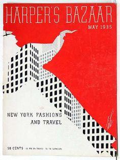 1930s Erte Harper's Bazaar Covers