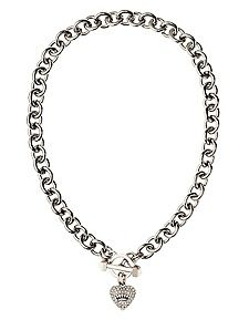 Juicy Pave Icon Necklace