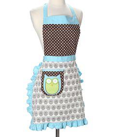 Hoot Stuff Apron. #owl #apron (ref link)