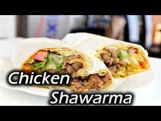 Chicken shawarma The Best Recipe - Make It Easy Recipes - YouTube