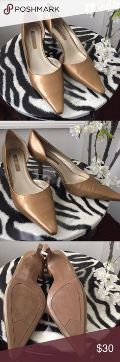 Bandolino kitten heels shoes No stretches or marks. Very comfortable, worn a couple of times. ❌No trades❌ Bandolino Shoes Heels